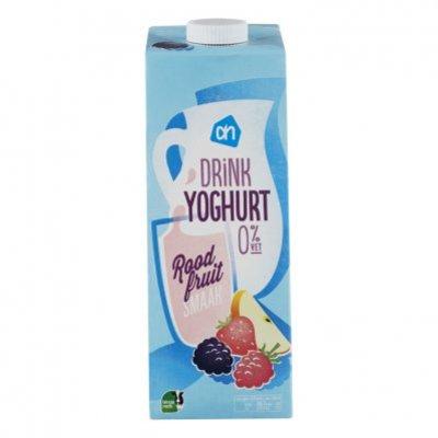 Huismerk Yoghurtdrink roodfruit