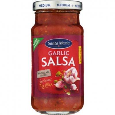 Santa Maria Garlic salsa