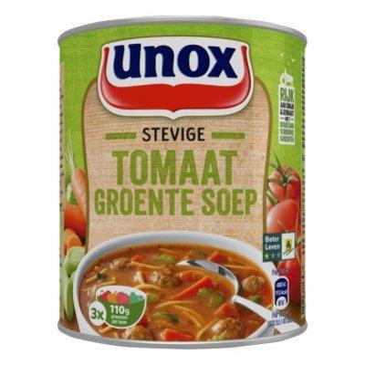 Unox Soep in blik tomaten groentesoep