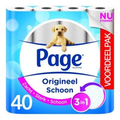 Page Origineel schoon toiletpapier