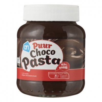 Huismerk Chocoladepasta puur