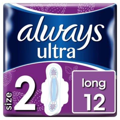 Always Ultra long (maat 2) maandverbanden