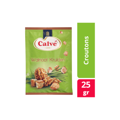 Calvé Croutons Mix Walnoot Kruiden