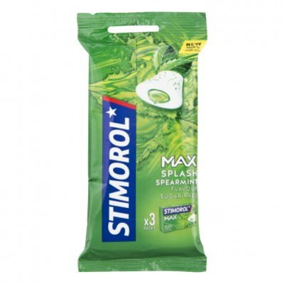 Stimorol Kauwgom max splash spearmint