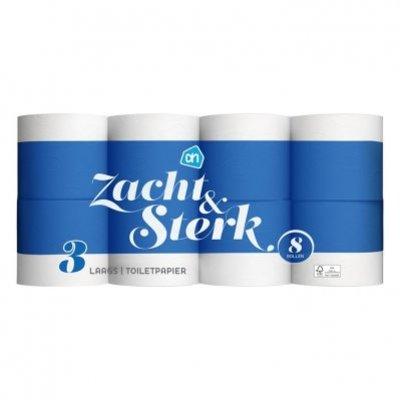 Huismerk Zacht & sterk toiletpapier 3-laags