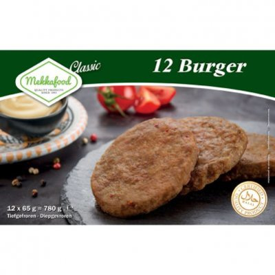 Mekkafood 12 Burgers halal