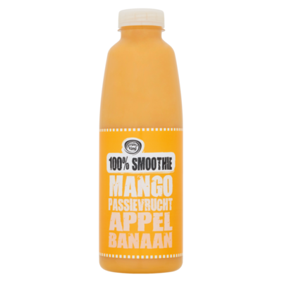Fruity King 100% Smoothie Mango Passievrucht Appel Banaan