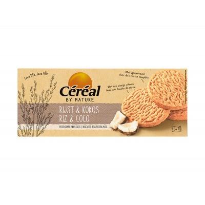 Céréal Meergranen koekjes rijst kokos