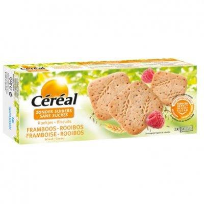 Céréal Koek framboos & rooibos suikervrij
