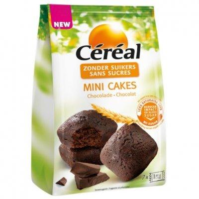 Céréal Mini cake chocolade suikerbewust