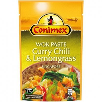 Conimex Wok paste curry - lemongrass - chili