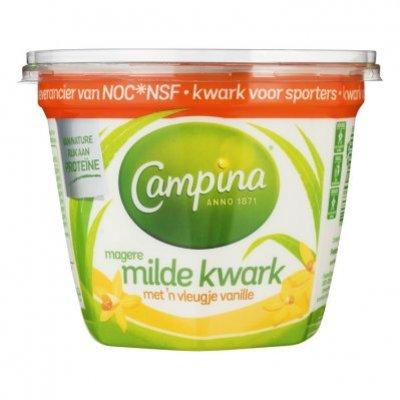 Campina Magere kwark met een vleugje vanille