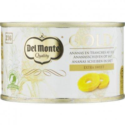 Del Monte Gold ananasschijven op sap