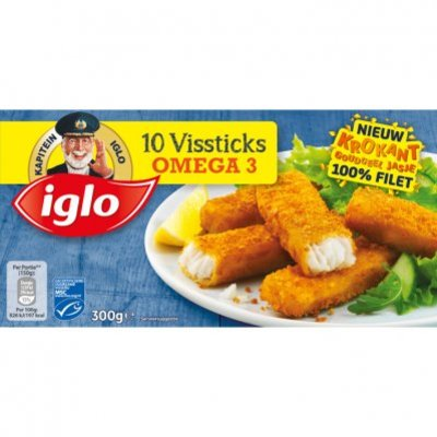 Iglo Vissticks omega-3