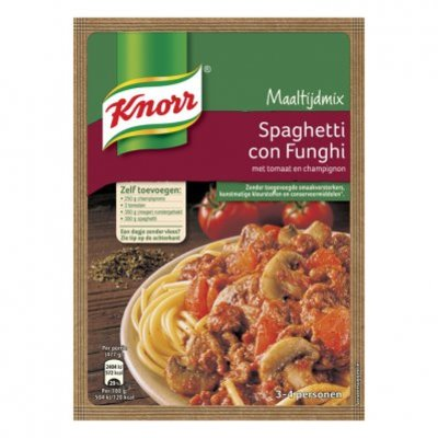 Knorr Mix con funghi