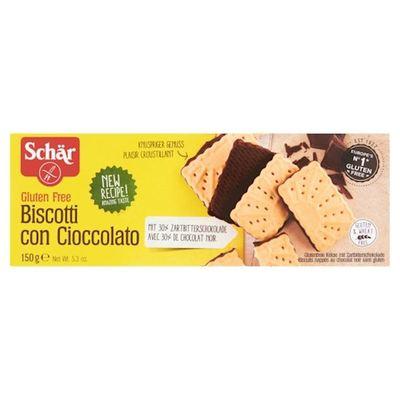 Schär Biscotti Con Ciocolato 150 gram