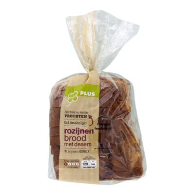 Huismerk Rozijnenbrood met desem