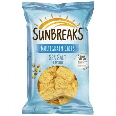 Sunbreaks Meergranen chips zeezout