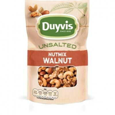 Duyvis Unsalted nutmix walnoot