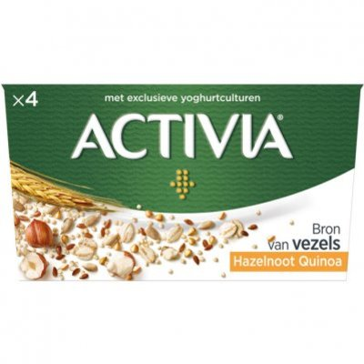 Activia Granen hazelnoot-quinoa
