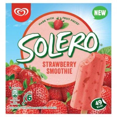 Ola Solero strawberry smoothie