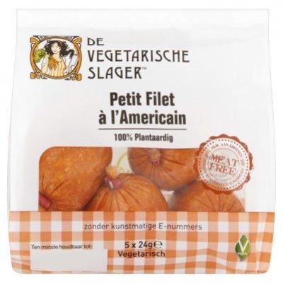 Vegetarische Slager Petit filet à l'Americain