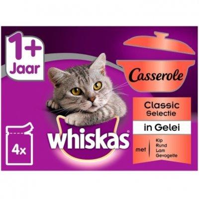 Whiskas Kattenvoer nat selectie in gelei 1+ jaar