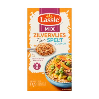 Lassie Zilvervlies Rijst + Spelt én Quinoa