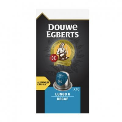 Douwe Egberts Lungo decaf koffiecups