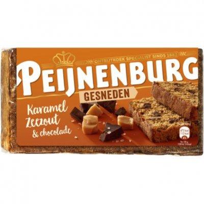 Peijnenburg Ontbijtkoek karamel zeezout gesneden