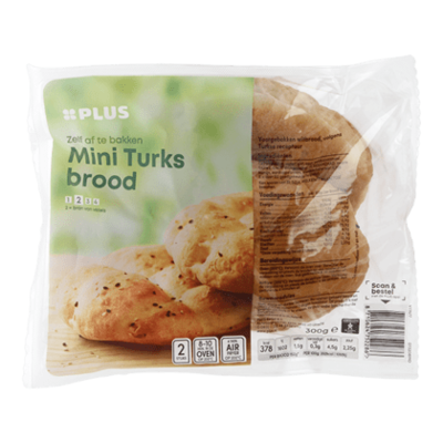 Huismerk Turks brood mini