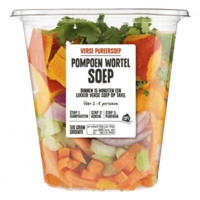 Huismerk Verse pureersoep pompoen-wortel