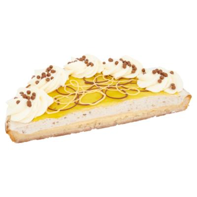 Huismerk Gebak en Banket Bananen Vlaai Half
