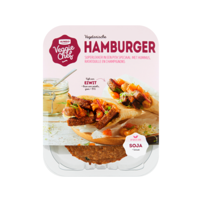 Huismerk Veggie Chef Hamburger