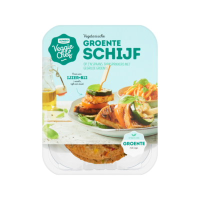 Huismerk Veggie Chef Vegetarische Groente Schijf