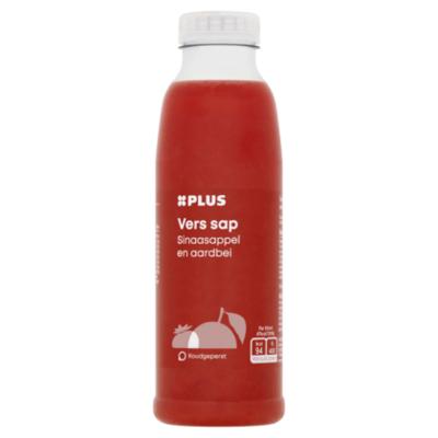 Huismerk 100% Vers sap sinaasappel-aardbei