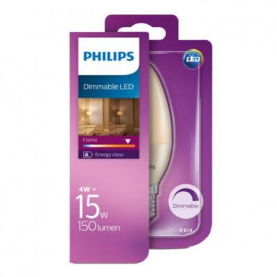 Philips Led dimmable E14 15W 150 lumen
