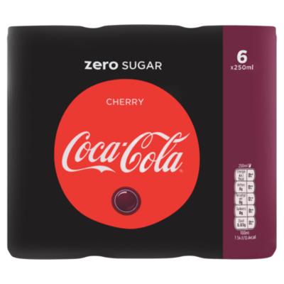 Coca-Cola zero sugar Cherry
