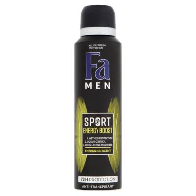 Fa Men Sport Energy Boost 72u Deodorant Spray 150 ml