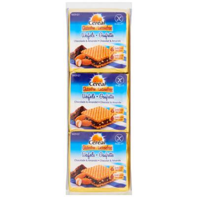 Céréal Wafel chocolade amandel