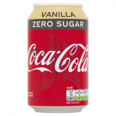 Coca-Cola Zero vanilla