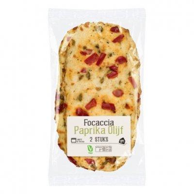 Huismerk Focaccia paprika en olijf