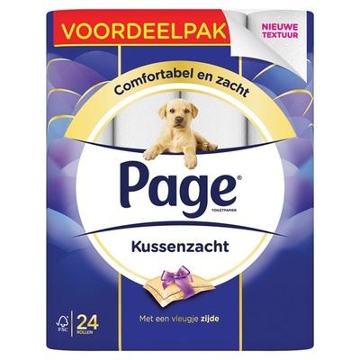 Page toiletpapier  kussenzacht voordeelpak