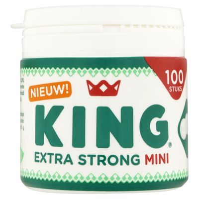 King Pepermunt Extra Strong Mini