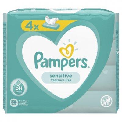 Pampers Baby Wipes Sensitive 4 stuks