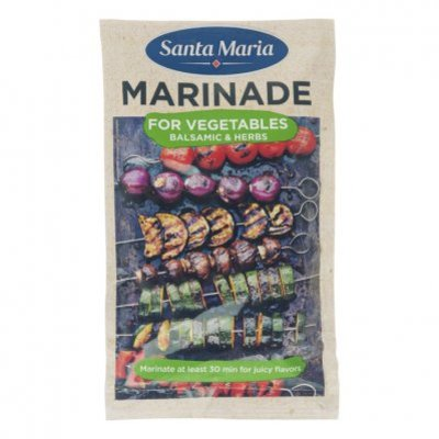 Santa Maria BBQ & grill marinade veggie