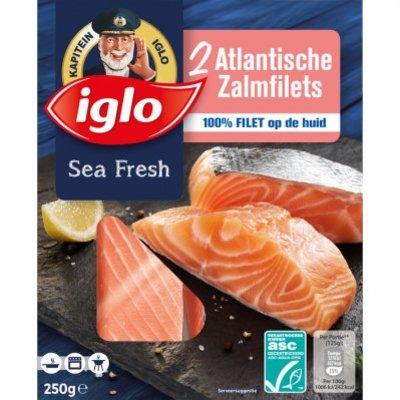 Iglo Atlantische zalmfilets