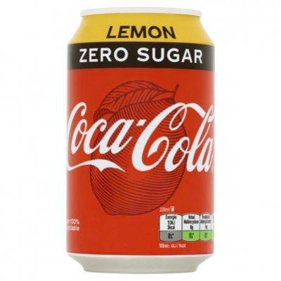 Coca-Cola Zero lemon blik