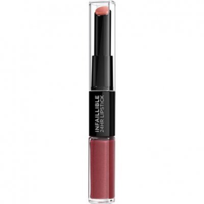 L'Oréal Infallible lipstick 507 relentless rouge