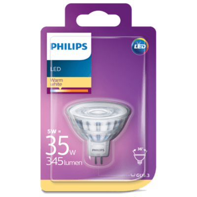 Philips LED spot 35W GU5.3 12V
